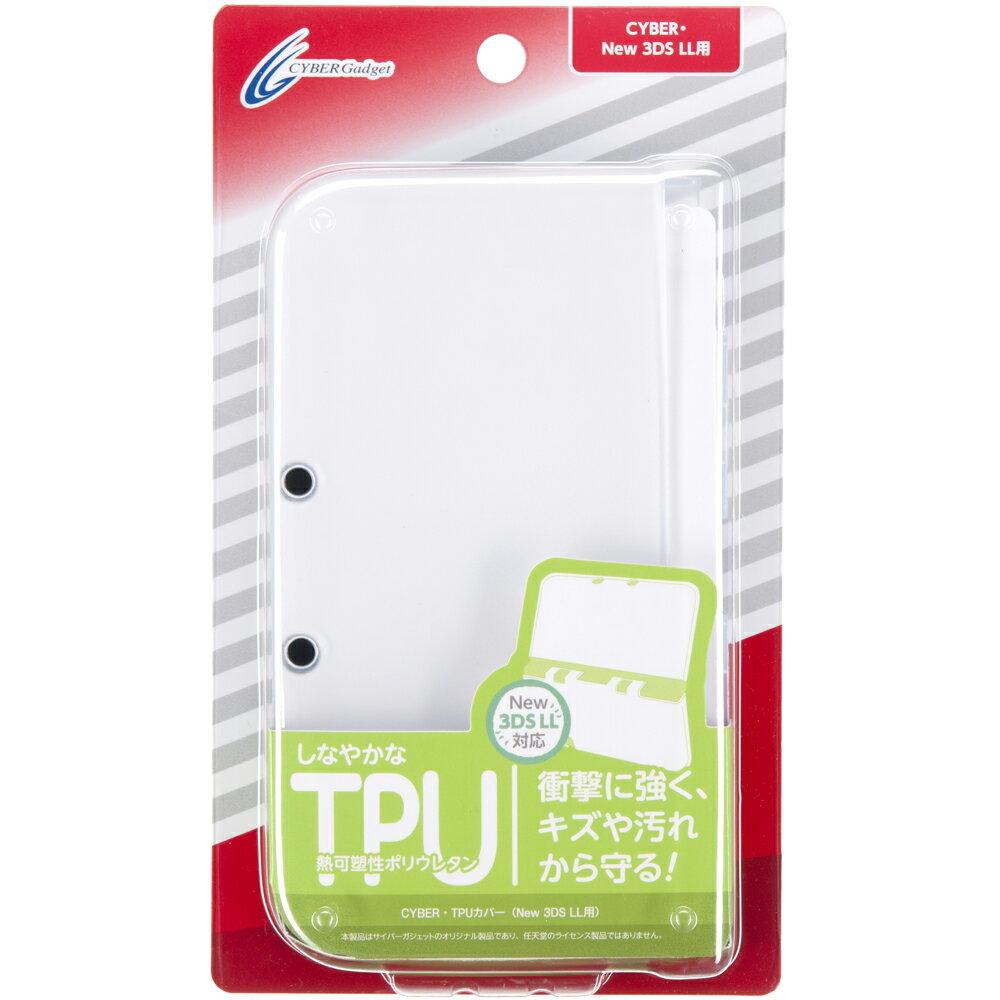 New 3DS LL 用 TPUカバー クリア