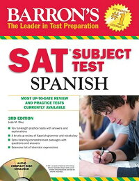 Barron'sSATSubjectTest:SpanishwithAudioCDs,3rdEdition