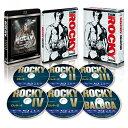 ロッキー コレクション スチールブック付きブルーレイBOX(6枚組)(数量限定生産)【Blu-ray】 [ シルベスター・スタローン ]