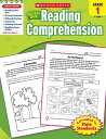 Scholastic Success with Reading Comprehension, Grades 1 SCHOLASTIC SUCCESS W/REA-GRD 1 [ Scholastic ]