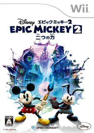 ディズニー エピックミッキー2:二つの力 Wii版