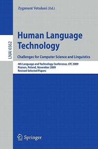 HumanLanguageTechnology.ChallengesforComputerScienceandLinguistics:4thLanguageandTechnol