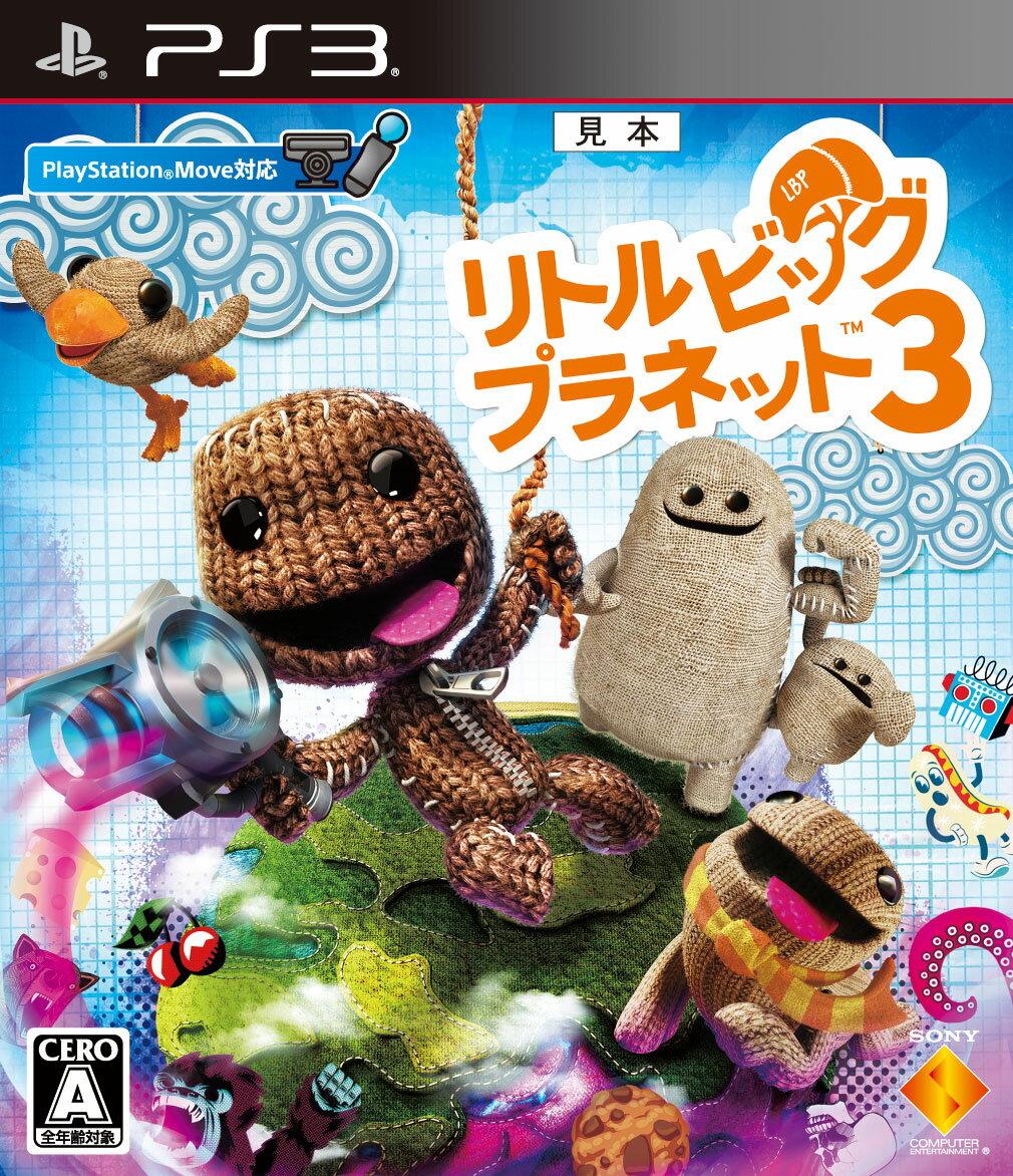 【予約】リトルビッグプラネット3 PS3版