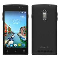 Covia SIMフリー スマートフォン 3G FLEAZ NEO 「Android5.1 / 4inch WVGA / W-CDMA / 標準SIM microSIM / 1GB / 8GB」 CP-B43