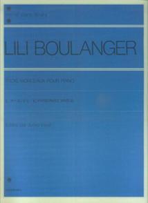 リリー・ブーランジェ/ピアノのための3つの作品 (Zen-on piano library) [ リリー・ブーランジェ ]