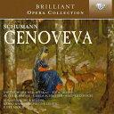 【輸入盤】『ゲノヴェーヴァ』全曲 マズア&ゲヴァントハウス管、エッダ・モーザー、フィッシャー=ディースカウ、シュライアー、他(1976 ス [ シューマン、ロベルト(1810-1856) ]