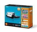 Wii U すぐに遊べるファミリープレミアムセット(クロ)の画像