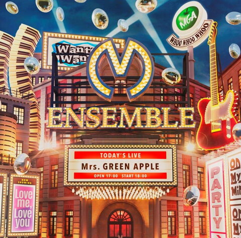 ENSEMBLE (初回限定盤 CD+DVD) [ Mrs.GREEN APPLE ]