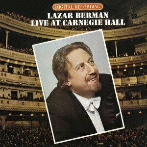 カーネギー・ホール・ライヴ1979 ラフマニノフ:ピアノ協奏曲第3番 [ ラザール・ベルマン ]