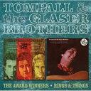 【輸入盤】Award Winners / Rings & Things [ Tompall Glaser / Glaser Brothers ]