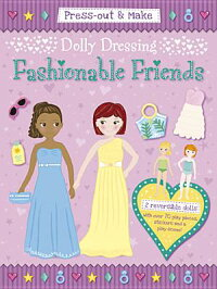 Press-Out&MakeDollyDressing--FashionableFriends[DuckEggBlue]