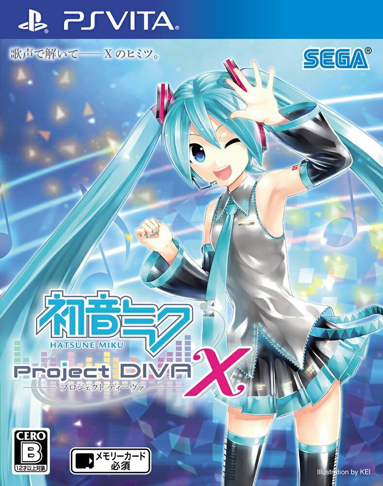 初音ミク -Project DIVA- X 【初回封入特典:AIR DOコラボモジュール「CAスタイル A」プロダクトコード】【予約特典:アーケードにもAimeきて!カード】