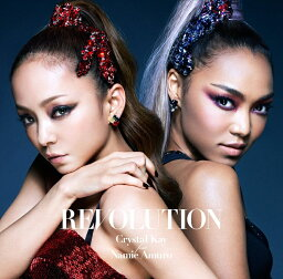 REVOLUTION (初回限定盤 CD+DVD) [ Crystal Kay feat.Namie Amuro ]
