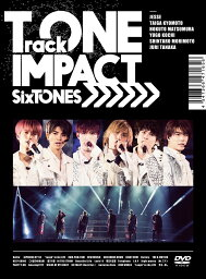 TrackONE -IMPACT- (初回盤 DVD) [ <strong>SixTONES</strong> ]
