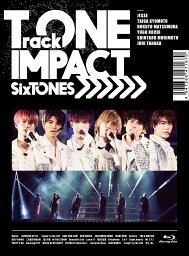 TrackONE -IMPACT- (初回盤 Blu-ray)【Blu-ray】 [ <strong>SixTONES</strong> ]