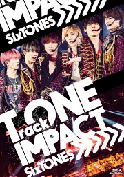 TrackONE -IMPACT- (通常盤 Blu-ray)【Blu-ray】 [ <strong>SixTONES</strong> ]