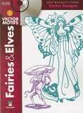 Fairies & Elves Vector Motifs [With CDROM] [ Alan Weller ]