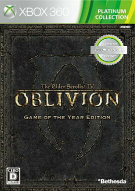 The Elder Scrolls IV�����֥�ӥ��� Game of the Year Edition Xbox 360�ץ���ʥ��쥯�����