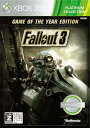 Fallout 3 Game of the Year Edition Xbox 360プラチナコレクション