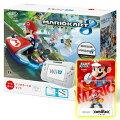 【スーパーSALE限定】 Wii U かなりお得なマリオカート8セット【A】 (Wii U本体+マリオカート8ソフト+amiiboスマブラマリオ)の画像