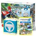 【スーパーSALE限定】Wii U かなりお得なマリオカート8セット【B】(Wii U本体+マリオカート8ソフト+マリオカート8 追加コンテンツ+Wiiハンドル)の画像