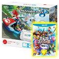【スーパーSALE限定】Wii U かなりお得なマリオカート8セット【C】(Wii U本体+マリオカート8ソフト+大乱闘スマッシュブラザーズ for Wii Uソフト)の画像