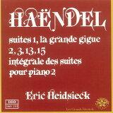 【輸入盤】組曲第1、2、3、13、15番 ハイドシェック [ ヘンデル(1685-1759) ]