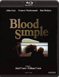 ブラッドシンプル/ザ・スリラー 4Kリストア版【Blu-ray】 [ ジョン・ゲッツ ]