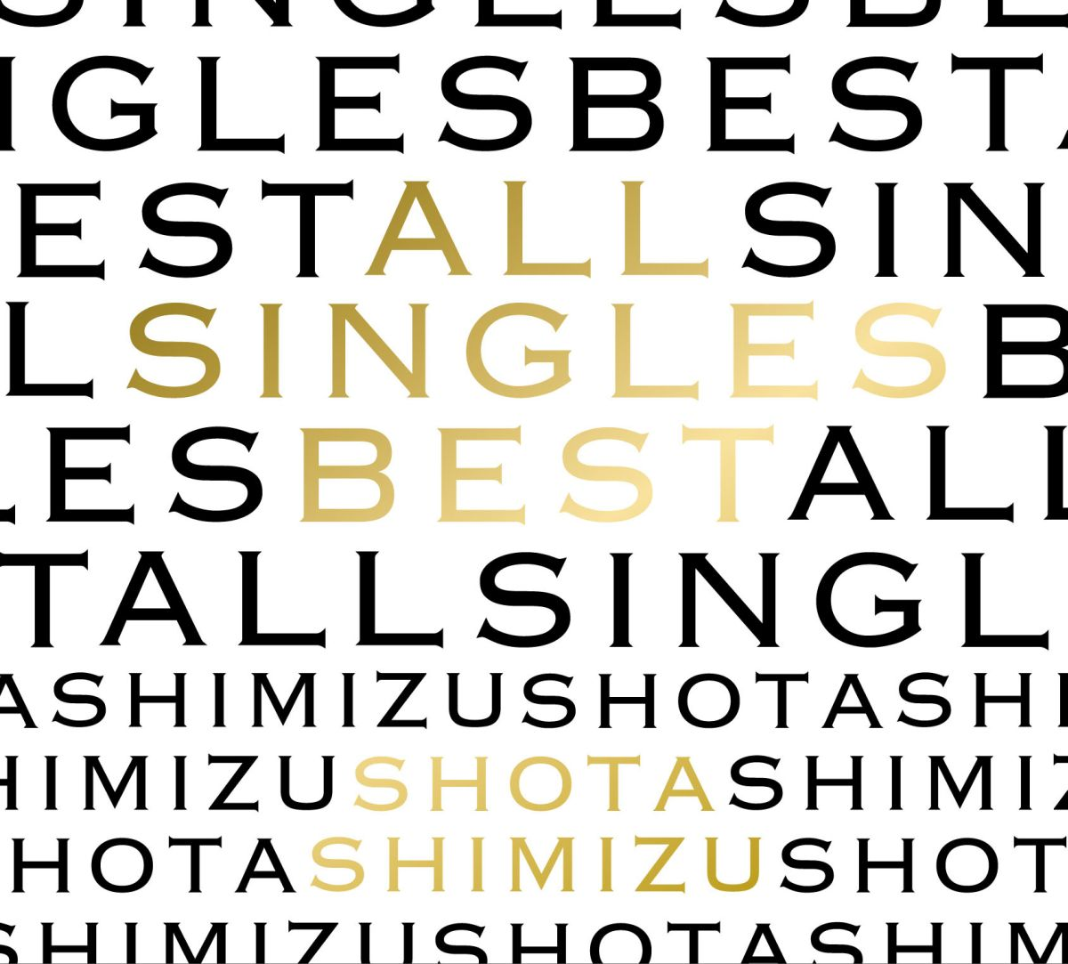 ALL SINGLES BEST (�������� 2CD��DVD)