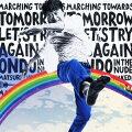 """明日へのマーチ/Let's try again〜kuwata keisuke ver.〜/ハダカ DE 音頭 〜祭りだ!! Naked〜(初回完全生産限定盤 """"明日へのレインボータオル""""封入スペシャル仕様)"""