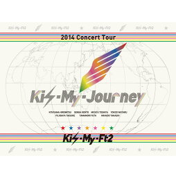 2014ConcertTour Kis-My-Journey 【初回生産限定盤】 [ <strong>Kis-My-Ft2</strong> ]