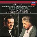 モーツァルト:ヴァイオリン ソナタ 第25 28 32 34番 ハスキル グリュミオー