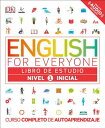 English for Everyone: Nivel 1: Inicial, Libro de Estudio LIB EJERCICIOS I ENGL EVERYONE (English for Everyone) DK