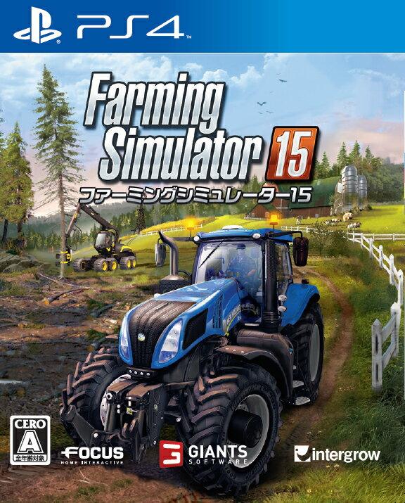 【予約】ファーミングシミュレーター 15 PS4版
