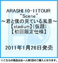 """【送料無料】ARASHI 10-11TOUR """"Scene""""〜君と僕の見ている風景〜【stadium】(仮題)【初回限定仕様】"""
