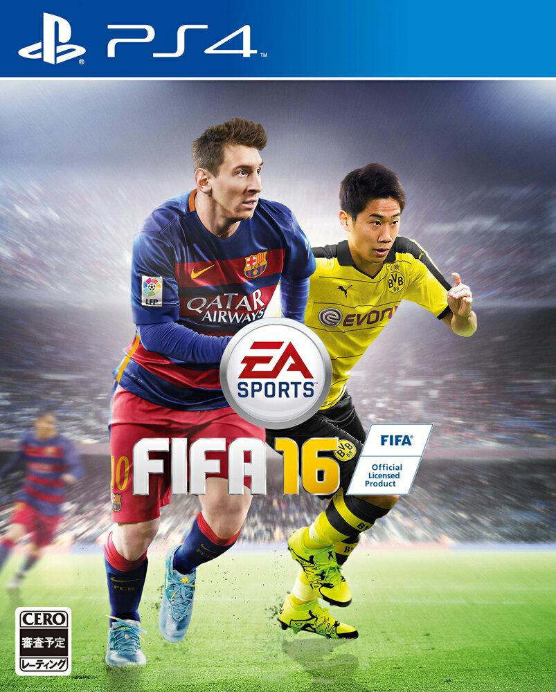 【予約】FIFA 16 PS4版
