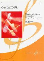【輸入楽譜】ラクール, Guy: 50のやさしく発展的な練習曲 第1巻
