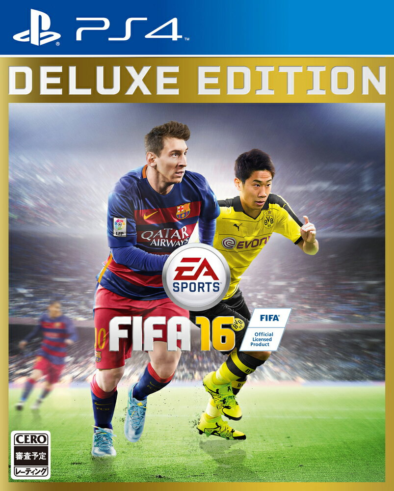 【予約】FIFA 16 DELUXE EEDITION PS4版