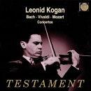 ��͢���ס�Violin Concertos: Kogan(Vn)ackermann, Vandernoot, Slivestri / Po, Paris Cons