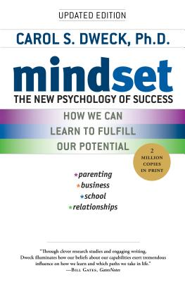 MINDSET:THE NEW PSYCHOLOGY OF SUCCESS(B)