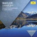 Classic - 【輸入盤】交響曲第4番 アバド&ウィーン・フィル、フォン・シュターデ [ マーラー(1860-1911) ]