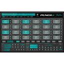 Rob Papen プラグイン ドラムシンセ ソフト音源 PUNCH 2