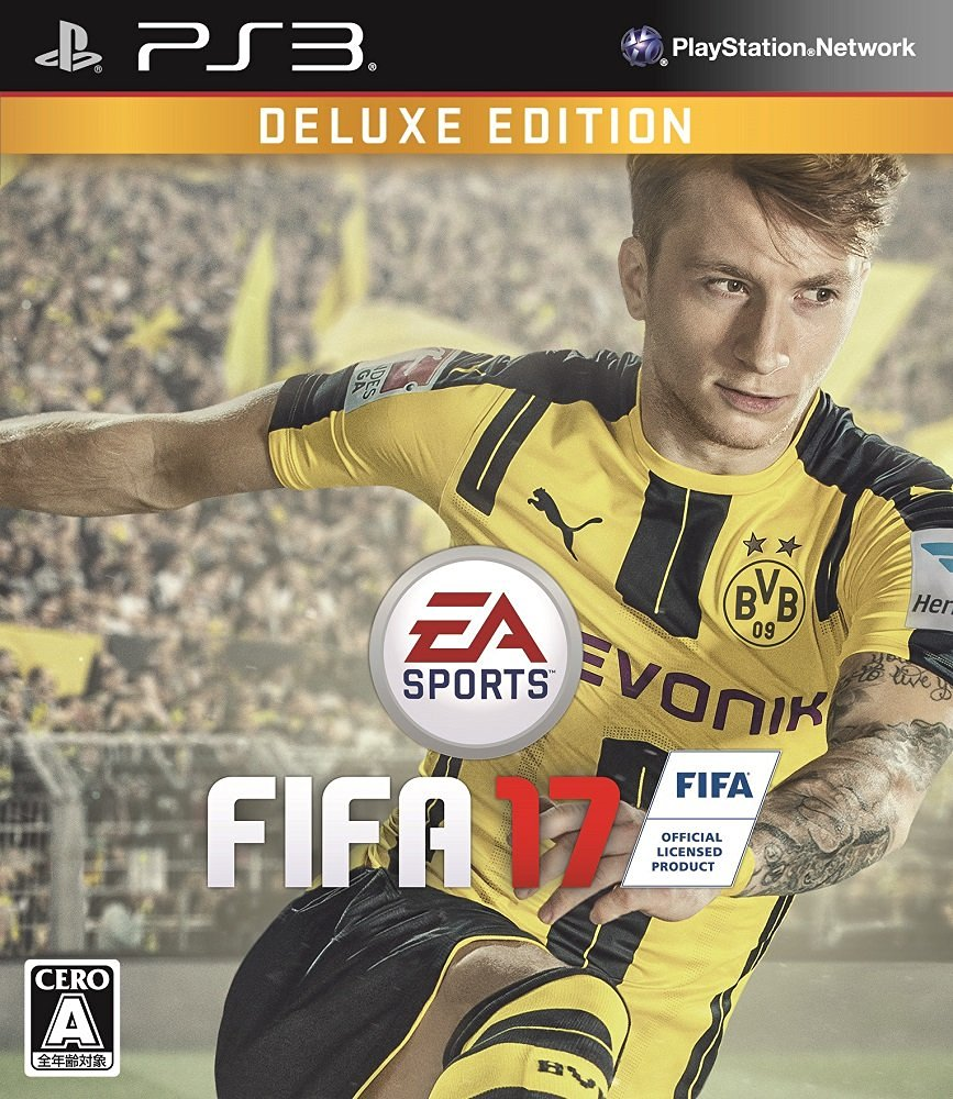 FIFA 17 DELUXE EDITION PS3版...:book:18076947