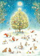 A Woodland Christmas Advent Calendar [ Bernadette Watts ]