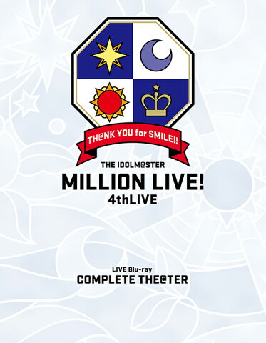 "THE IDOLM@STER MILLION LIVE! 4thLIVE TH@NK YOU for SMILE! LIVE Blu-ray ""COMPLETE THE@TER""【Blu-ray】 [ (V.A.) ]"