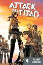 Attack on Titan, Volume 4 ATTACK ON TITAN V04 (Attack on Titan) [ Hajime Isayama ]