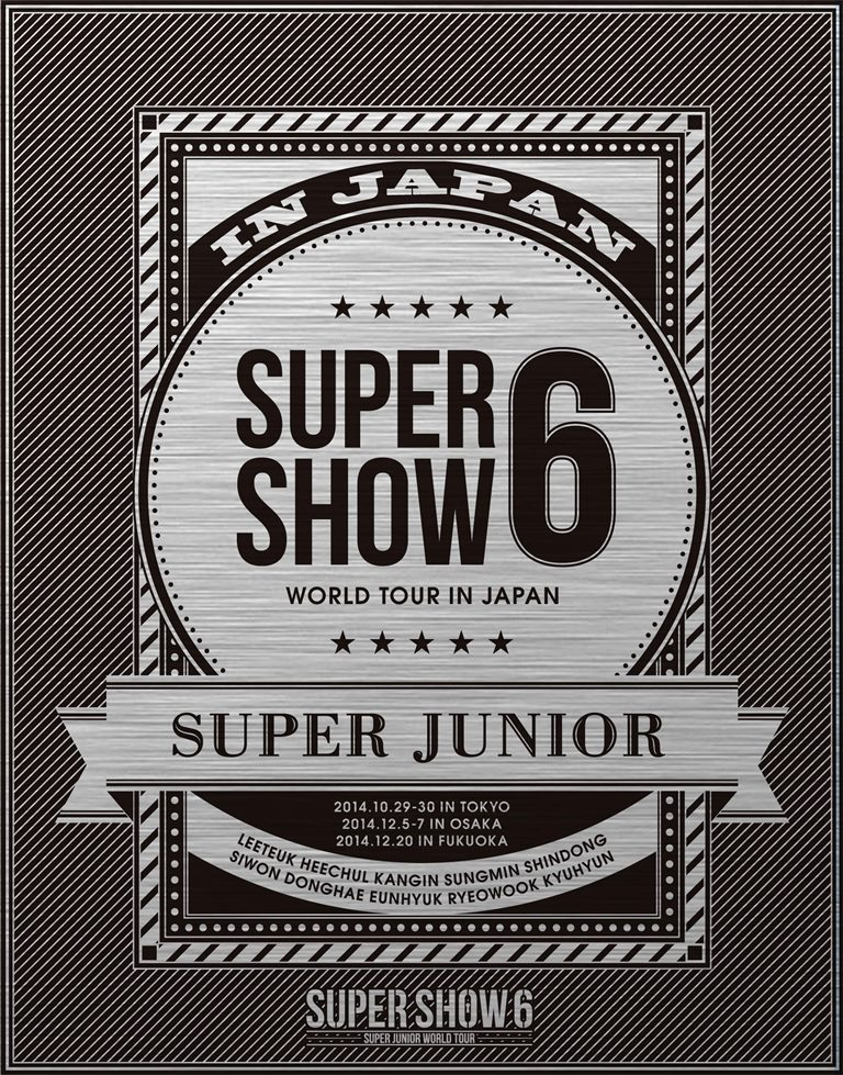 SUPER JUNIOR WORLD TOUR SUPER SHOW6 in JAPAN …...:book:17293644