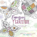 Expressions of Gratitude: Inspirational Adult Coloring Book