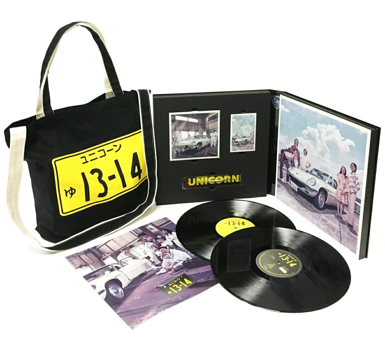 ゅ13,14[ユニコーン] , ゅ13,14(完全生産限定盤CD+DVD+2LP+