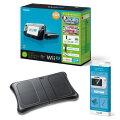 Wii U すぐに遊べるファミリープレミアムセット+Wii Fit U(クロ)【バランスWiiボード(クロ)付】の画像